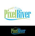 Pixel River Logo - Online Marketing Agency - Entry #131