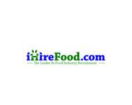 iHireFood.com Logo - Entry #4