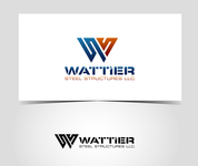 Wattier Steel Structures LLC. Logo - Entry #58