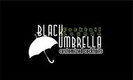 Black umbrella coffee & cocktail lounge Logo - Entry #190