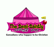 The Semi-Saintly Comedy Tour Logo - Entry #63