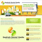 Sasha's Social Media Logo - Entry #150