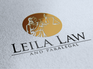 Leila Law Logo - Entry #30