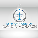Law Offices of David R. Monarch Logo - Entry #258