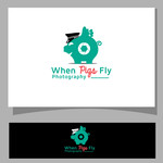 When Pigs Fly Photography Logo - Entry #51
