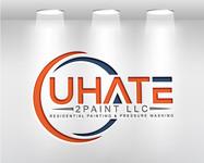 uHate2Paint LLC Logo - Entry #79