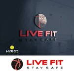 Live Fit Stay Safe Logo - Entry #272