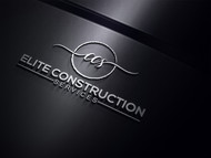 Elite Construction Services or ECS Logo - Entry #281