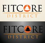 FitCore District Logo - Entry #2