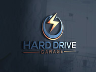 Hard drive garage Logo - Entry #137