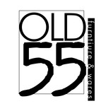 """""""OLD 55"""" - mid-century vintage furniture and wares store Logo - Entry #232"""