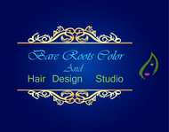 Bare Roots Color & Hair Design Studio Logo - Entry #13