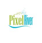 Pixel River Logo - Online Marketing Agency - Entry #85