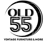 """""""OLD 55"""" - mid-century vintage furniture and wares store Logo - Entry #175"""