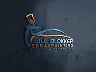 Bill Blokker Spraypainting Logo - Entry #33
