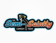 The Semi-Saintly Comedy Tour Logo - Entry #43