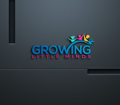 Growing Little Minds Early Learning Center or Growing Little Minds Logo - Entry #160