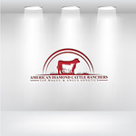 American Diamond Cattle Ranchers Logo - Entry #147