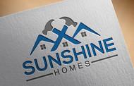 Sunshine Homes Logo - Entry #489