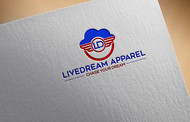 LiveDream Apparel Logo - Entry #286