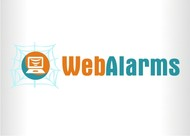 Logo for WebAlarms - Alert services on the web - Entry #154