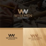Wisemen Woodworks Logo - Entry #142