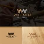Wisemen Woodworks Logo - Entry #142