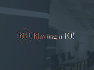 Having a 10! Logo - Entry #2