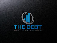 The Debt What If Calculator Logo - Entry #78
