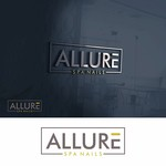 Allure Spa Nails Logo - Entry #133