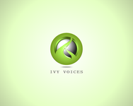 Logo for Ivy Voices - Entry #187