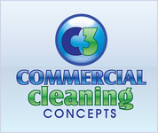 Commercial Cleaning Concepts Logo - Entry #102