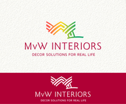 MvW Interiors Logo - Entry #81