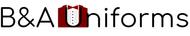 B&A Uniforms Logo - Entry #85