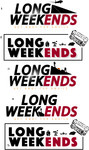 Long Weekends Logo - Entry #24