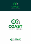 CA Coast Construction Logo - Entry #45