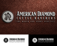American Diamond Cattle Ranchers Logo - Entry #188