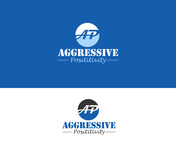 Aggressive Positivity  Logo - Entry #3