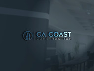CA Coast Construction Logo - Entry #62
