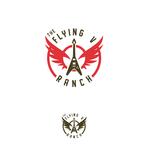 The Flying V Ranch Logo - Entry #24
