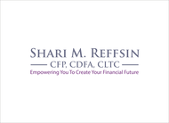 I do not want a brandname in my logo.  If anything, Shari M. Reffsin, CFP, CDFA, CLTC - Entry #63