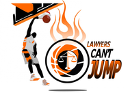 "charity basketball event logo (name with logo is ""lawyers can't jump"") - Entry #30"