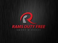 Rams Duty Free + Smoke & Booze Logo - Entry #232