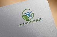 Live Fit Stay Safe Logo - Entry #18