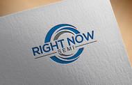 Right Now Semi Logo - Entry #203
