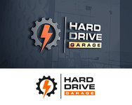 Hard drive garage Logo - Entry #66