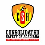 Consolidated Safety of Acadiana / Fire Extinguisher Sales & Service Logo - Entry #25