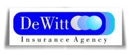 """""""DeWitt Insurance Agency"""" or just """"DeWitt"""" Logo - Entry #119"""