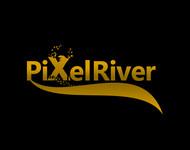 Pixel River Logo - Online Marketing Agency - Entry #71