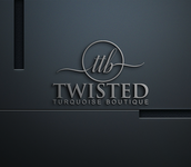 Twisted Turquoise Boutique Logo - Entry #3